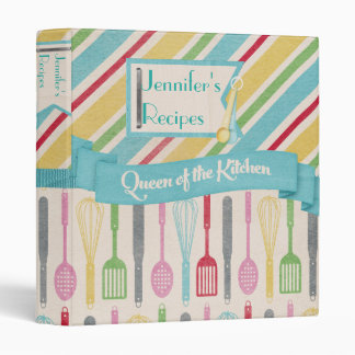 Queen Of The Kitchen Recipe Binder