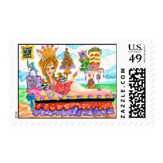 Queen of the Lake Postage