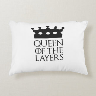 Queen of the Layers, #Layers Accent Pillow