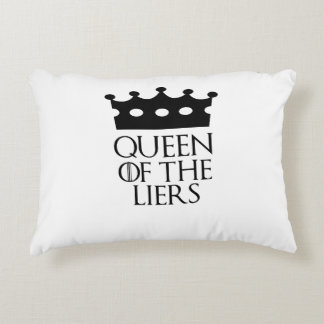 Queen of the Liers, #Liers Accent Pillow