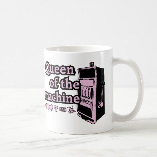 Queen Of The Machine Classic White Coffee Mug