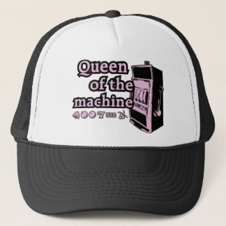 Queen Of The Machine Trucker Hat