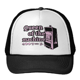 Queen Of The Machine Trucker Hat