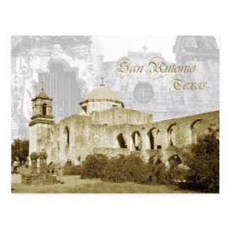 Queen of the Missions, San Antonio, Texas Postcard