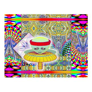 Queen of the Mushroom People  Postcard