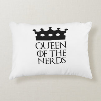 Queen of the Nerds, #Nerds Accent Pillow