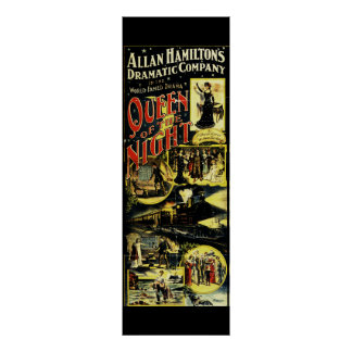 Queen of the Night Opera Poster