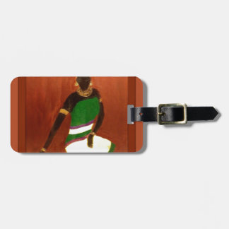 Queen Of The Nile Tag For Luggage