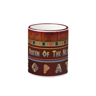 Queen Of The Nile Ringer Coffee Mug