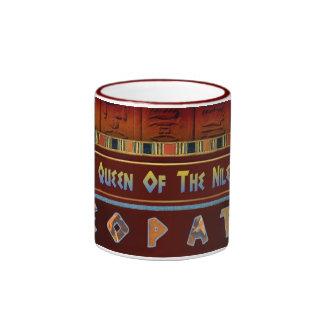 Queen Of The Nile Ringer Mug