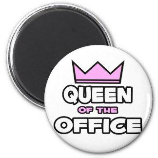 Queen of the Office Fridge Magnet