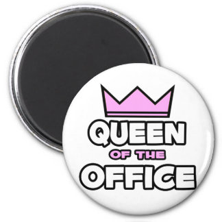 Queen of the Office Magnet
