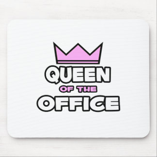 Queen of the Office Mousepads