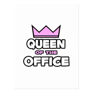 Queen of the Office Post Cards