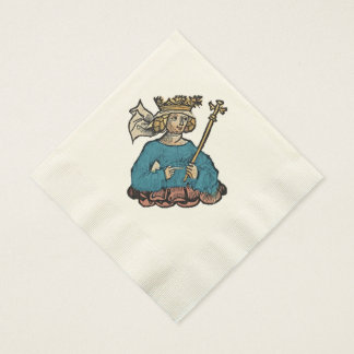 Queen of the Ostrogoths Coined Luncheon Napkin