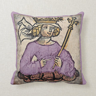Queen of the Ostrogoths, lavender Pillows
