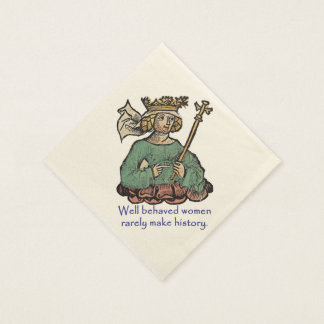 Queen of the Ostrogoths Napkin