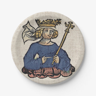 Queen of the Ostrogoths 7 Inch Paper Plate