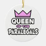 Queen of the Paralegals Ornament