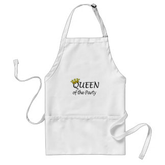 Queen Of The Party Adult Apron