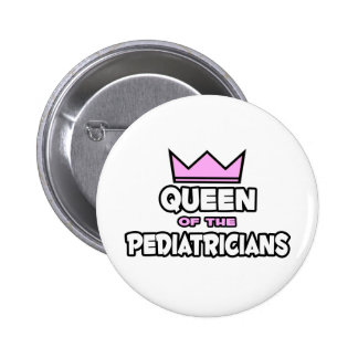 Queen of the Pediatricians Button