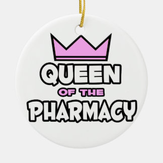 Queen of The Pharmacy Ceramic Ornament