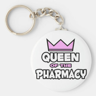 Queen of The Pharmacy Keychain