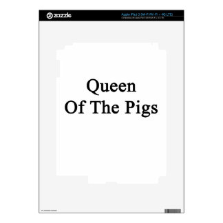 Queen Of The Pigs iPad 3 Decal