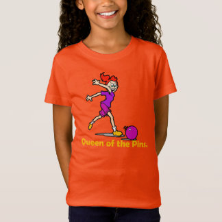 QUEEN of the PINS Bowling Tee