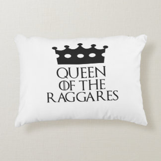 Queen of the Raggares, #Raggares Accent Pillow