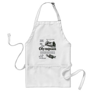 Queen of The Rails - New Olympian 1929 Adult Apron