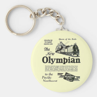 Queen of The Rails - New Olympian 1929 Basic Round Button Keychain