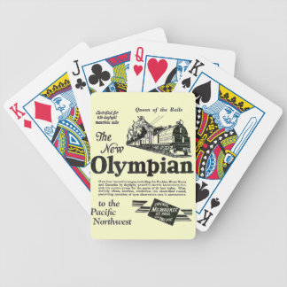 Queen of The Rails - New Olympian 1929 Bicycle Playing Cards