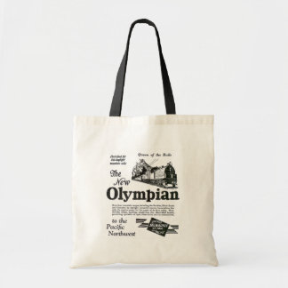 Queen of The Rails - New Olympian 1929 Budget Tote Bag