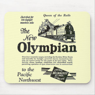 Queen of The Rails - New Olympian 1929 Mouse Pad