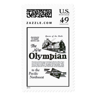 Queen of The Rails - New Olympian 1929 Postage Stamp