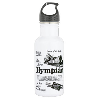 Queen of The Rails - New Olympian 1929 Water Bottle