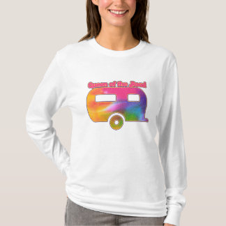 Queen of the Road Camper T-Shirt