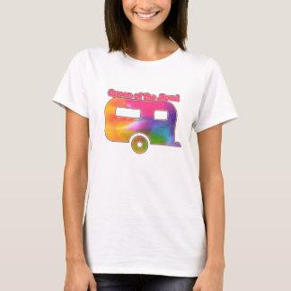 Queen of the Road Camper T-Shirt