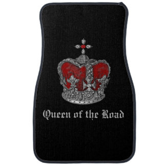Queen of the Road Royal Crown Car Mats
