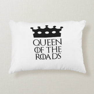 Queen of the Roads, #Roads Accent Pillow