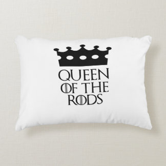 Queen of the Rods, #Rods Accent Pillow
