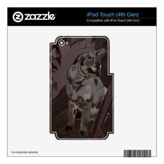 Queen of the Rural Jungle Decal For iPod Touch 4G