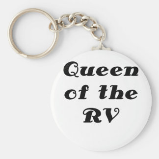 Queen of the RV Keychain