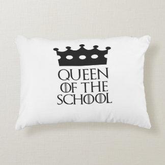 Queen of the School, #School Accent Pillow