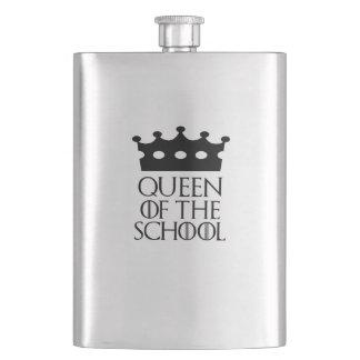 Queen of the School, #School Flask