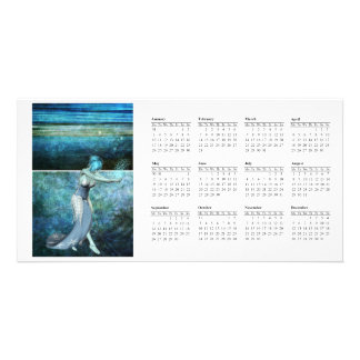 Queen of the sea... Calender 2011 Customized Photo Card