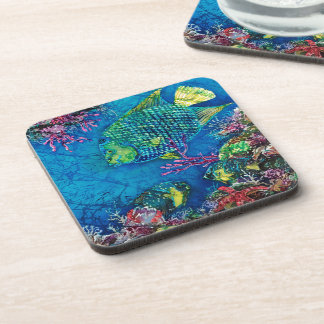 Queen of the Sea Cork Coaster-SET of 6 Beverage Coaster