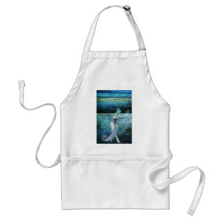 Queen of the sea... Diptych Adult Apron