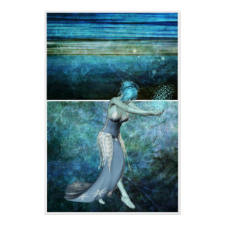 Queen of the sea... Diptych Poster